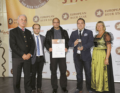 Karl Friedrich Ladenburger  ha vinto la medaglia argento 2012 European Beer Star